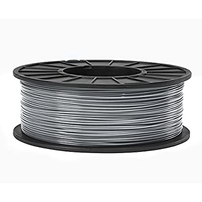 1.75 mm Gray ABS 3D Printing Filament (1 kg Roll)