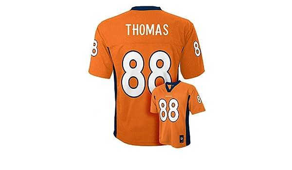Amazon.com  Outerstuff Demaryius Thomas Denver Broncos  88 Orange Toddler  Mid Tier Home Jersey  Clothing cb5b8ab8d