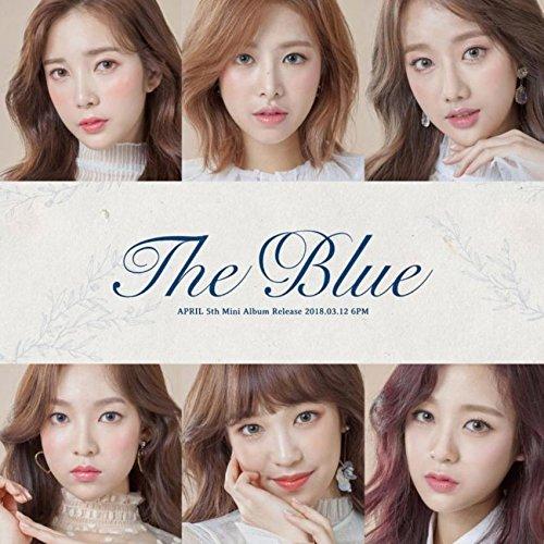 APRIL - APRIL [THE BLUE] 5th Mini Album CD+Photobook+2p  Card+Letter+Tracking Number K-POP SEALED - Amazon.com Music