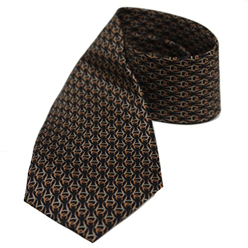 Gucci Huffero Black Twill Silk Tie for Men Necktie - Gucci Outlet