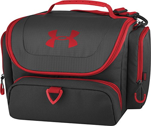 Under Armour 24 Can Soft Cooler, Black/Red (Best Cooler Bag For The Money)