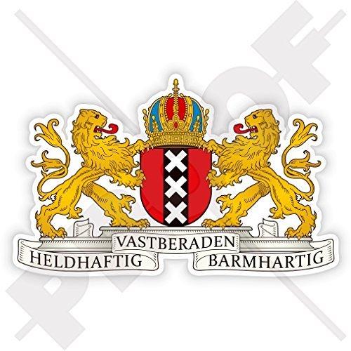 AMSTERDAM Coat of Arms Emblem Netherlands Holland Nederland Dutch 110mm (4.3