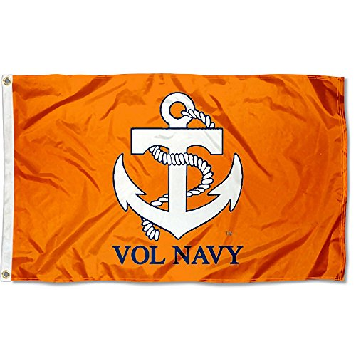 College Flags and Banners Co. Tennessee Volunteers Vol Navy Flag