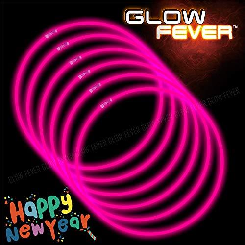 Glow Sticks Bulk 100ct 22inches Glow Necklaces (22