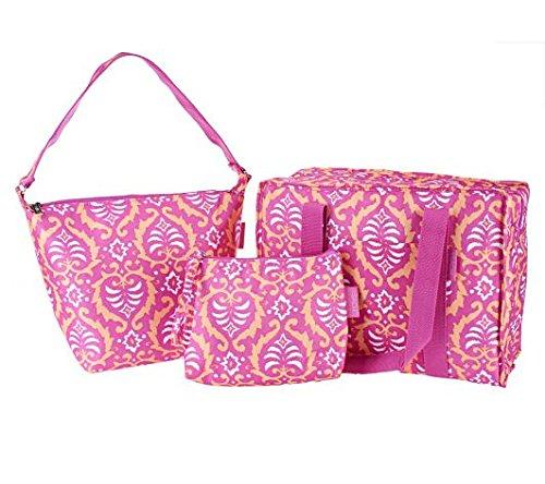 sachi-set-of-3-multi-shaped-bags-pink-orange