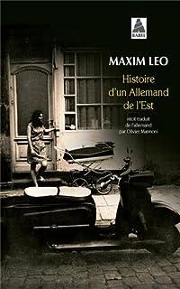 Histoire d'un Allemand de l'Est : récit
