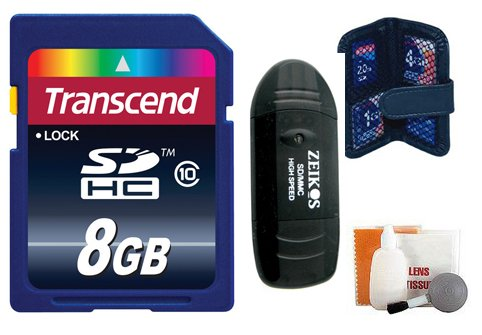 Transcend Micro SD Memory Card Class 10 4GB with Card Adapter - 2