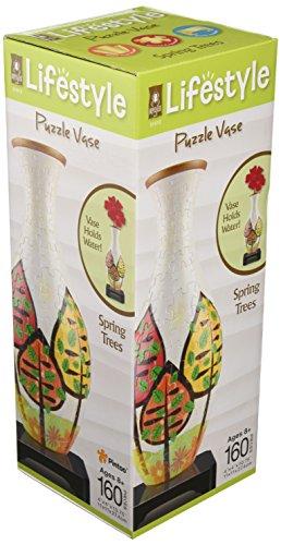 3D Puzzle Vase - Spring Trees -