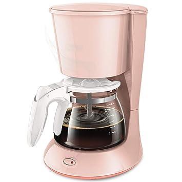 Totalmente automático, máquina de café de filtro con jarra aislada, rosa-0.6l: Amazon.es: Hogar