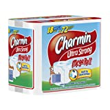 Charmin Ultra Strong, Mega Rolls, 6 Count Pack (Pack of 3) 18 Total Rolls  [Amazon Frustration-Free Packaging]