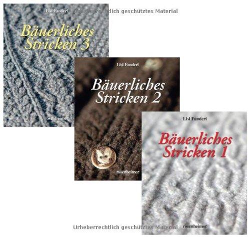 Bäuerliches Stricken Band 1-3: Amazon.co.uk: Lisl Fanderl ...