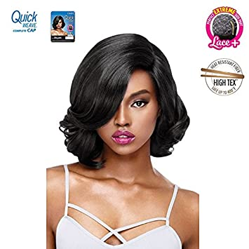 Amazon.com  OUTRE QUICK WEAVE FULL WIG, COMPLETE CAP, LACE