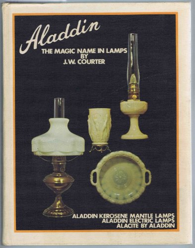 Aladdin: THE MAGIC NAME IN LAMPS, Aladdin Kerosene Mantle Lamps, Aladdin Electric Lamps, Alacite by Aladdin, with 1983 price guide