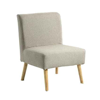 Cool Amazon Com Qqxx Cjc Chairs Oak Linen Fabric Upholstered Bralicious Painted Fabric Chair Ideas Braliciousco