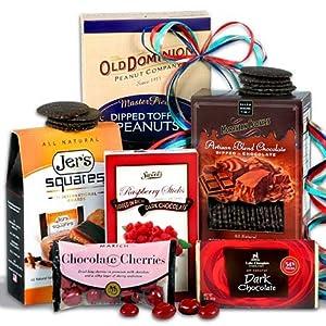Chocolate Gift Basket Stack – Sweet Decadence