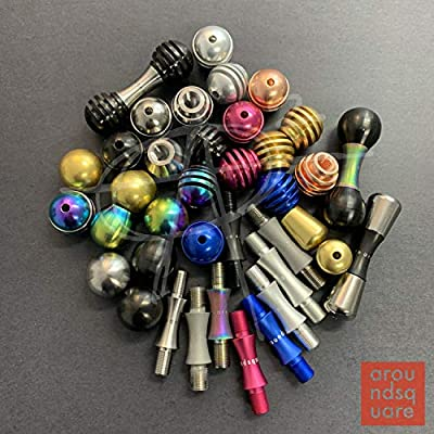 AroundSquare Knucklebone Modular - Begleri - Skill Toy (Aluminum Natty-Honey Knobs: Toys & Games