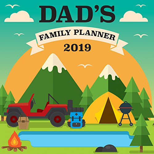 Dad's Family Planner 2019 Wall - Dad Calendar