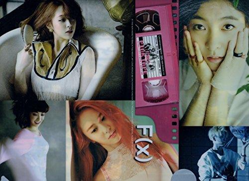 f(X) エフエックス A4クリアファイル  韓国 ap03