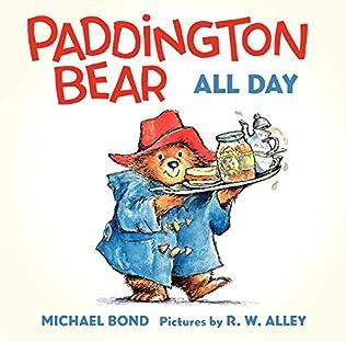 book cover of Paddington Bear All Day
