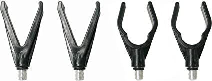 Carp 3 Pieces Y Shaped Head Rest Coarse Fishing Rod Rest Butt Grips Cups