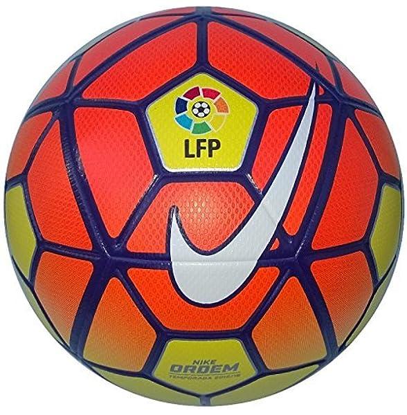 NIKE Ordem 3 Lfp - Balón Unisex, Color Amarillo/Naranja/Morado ...