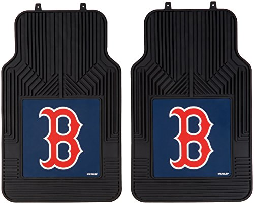 The Northwest Company MLB Boston Red Sox Licensed Front Floor Mats, One Size, Multicolor