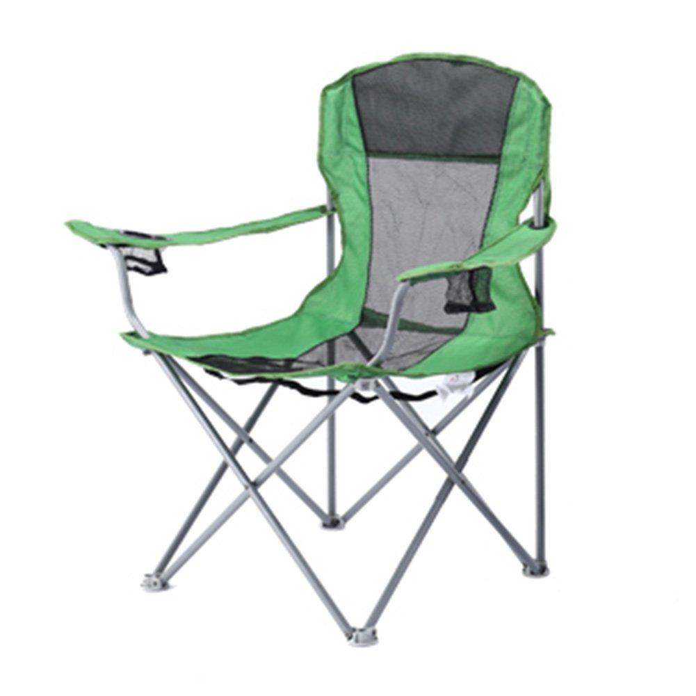 Anna Kletterstuhl Outdoor Klappstuhl Leichte Sessel Camping Lounge Stuhl Strand Angeln Stuhl Tragbare Sessel Reise Skizze Stuhl Grün 60  60  97 cm
