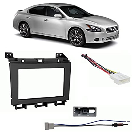 510y3v1EfEL._SY463_ amazon com fits nissan maxima 2009 2014 double din harness radio nissan sentra 2007 radio wiring diagram at edmiracle.co