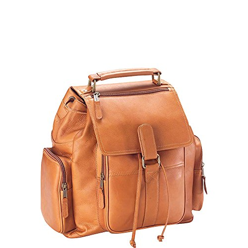 Clava Vachetta Leather Urban Survival Backpack (Vachetta Tan)