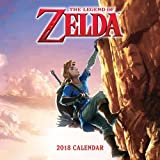 Books : The Legend of Zelda™ 2018 Wall Calendar