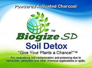 5lb biogize SD suelo Detox–polvo de carbón activado–EN cubo