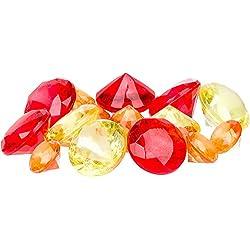Petco Aquarium Treasure Red Gems Gravel Accents, Multi-Color