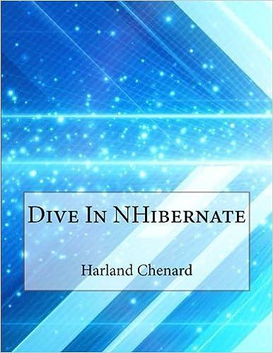 Dive In NHibernate