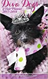 Paper Craft 2 Year Planner Scheduler Organizer Appointment Book Covers 2017 thru 2018 (Diva Dogs)