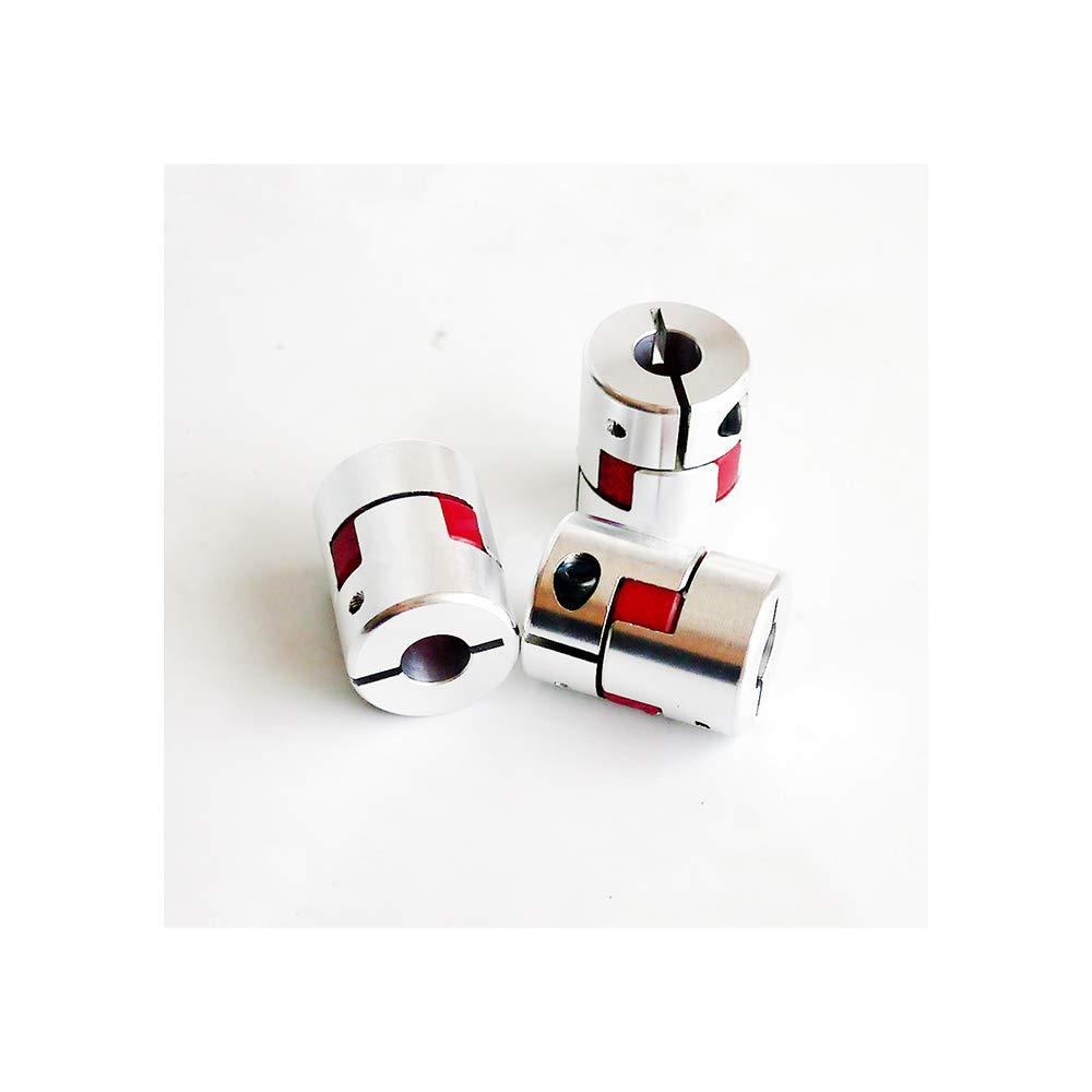 25mm Klauenkupplung 3pcs//lot 4mm 5mm 6mm 6,35mm 7mm 8mm 9mm 9,5mm 10mm 12mm Flexible Kiefer Spinne Pflaume Kupplung Wellenkupplung 6x8mm