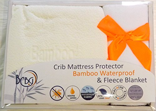 baby-crib-mattress-set-by-bcbg-online-fitted-waterproof-bamboo-protector-cover-pad-and-fleece-polyes
