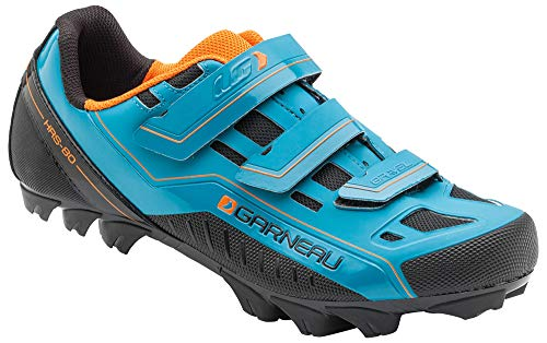 Louis Garneau Men's Gravel Bike Shoes, Sapphire, US (9.5), EU (Mountain Bike Shoe Reviews)