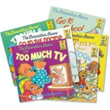 The Berenstain Bears Collection (12): The Berenstain Bears and Too Much Junk Food; the Berenstain Bears Learn About Strangers; Berenstain Bears & the Bully; Berenstain Bears Moving Day; Berenstain Bears Dollars and Sense; No Girls Allowed (An Unofficial Box Set :The Berenstain Bears Bad Dream - Think of Those in Need - Easter - Trouble At School) by Stan Berenstain (2005-08-02)
