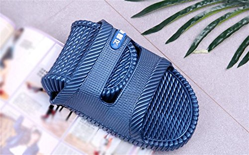 W&XY Slippers male bathroom interior non-slip bath soft cool one word sandals 43 rl3lf