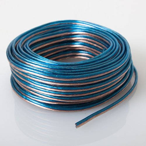 B00AJ4APE8 Audiotek - AT-SPW18GA/50B - Car Vehicle 18 Gauge Speaker Wire - 50 Feet Blue 510y7ZSiSLL