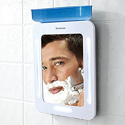 Brookstone Fogless Shower Mirror