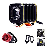 Bodyguard Bike Light - Super Rechargeable Front LED Bicycle Headlight With...