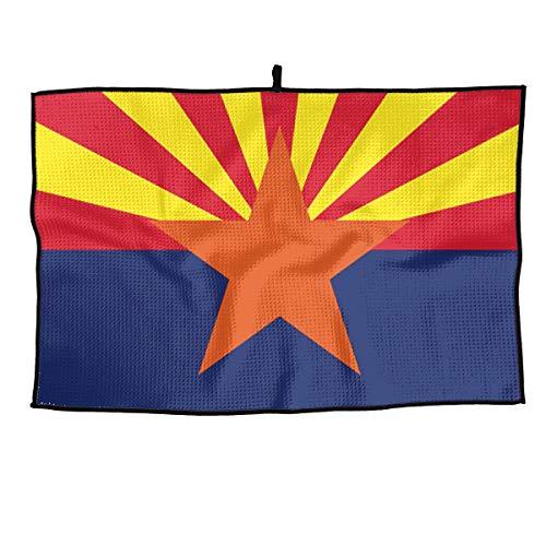 (Arizona State Flag Sports Golf Towel 15