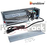 Durablow MFB003-B EP62-1 Replacement Fireplace Blower Fan Kit for Continental, Napoleon, Wolf Steel, Rotom R7-RB62