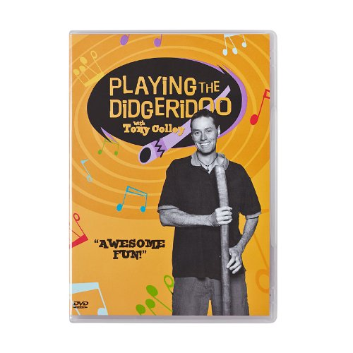 """About these Didgeridoo Lessons on DVD From the team at Didgeridoo Breath and DidgeridooDojo.com comes """"Learn How to Play the Didgeridoo - Didgeridoo Lessons with Tony Colley"""". With the Playing the Didgeridoo DVD, you can follow along in real time, se..."""