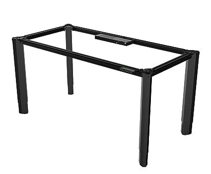 Amazon Com Vivistand Quattro 4 Leg Electric Standing Desk Height