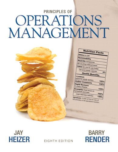 Principles of Operations Management (8th Edition)