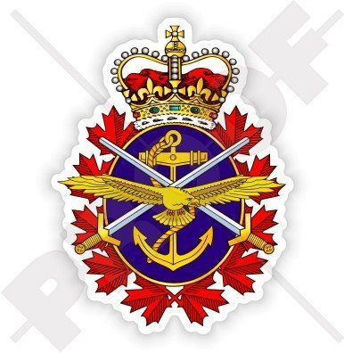 Forces Emblem (CANADA Canadian Armed Forces Badge CF Emblem 4