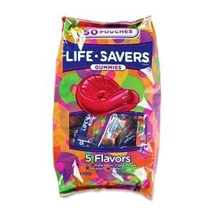 MJK21985 - Lifesavers, five flavor Gummies, 42oz