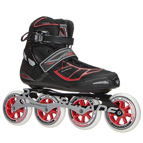 可能にする電圧やむを得ないRollerblade Tempest 100 Inline Skatesブラック/レッド